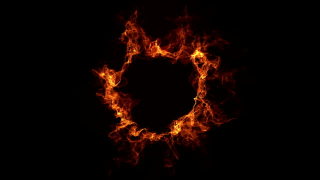 ring of fire, - flame stock videos & royalty-free footage