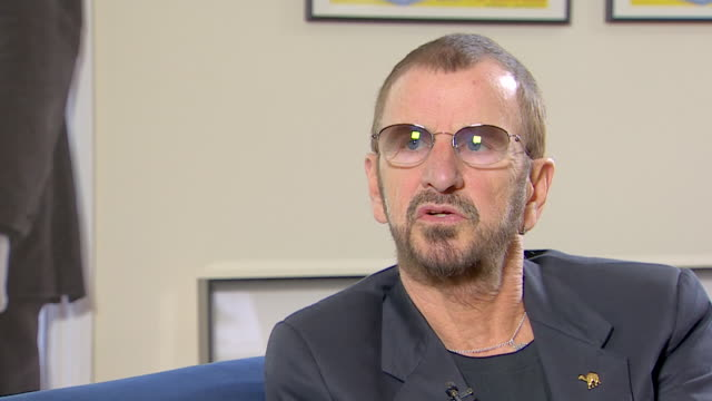 ringo starr discusses his favourite photographs of the beatles - george harrison stock videos & royalty-free footage