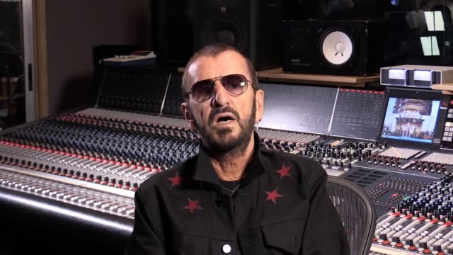 ringo starr hopes theresa may can help bring peace and love to the uk by delivering brexit the former beatles drummer spoke on his 77th birthday on... - ringo starr stock videos and b-roll footage