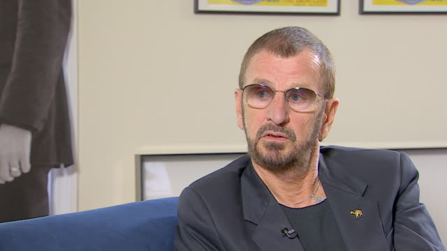 ringo starr on being mistaken for john lennon by members of the public - george harrison stock videos & royalty-free footage