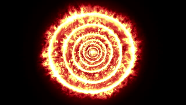 rings of fire - bull's eye stock videos and b-roll footage