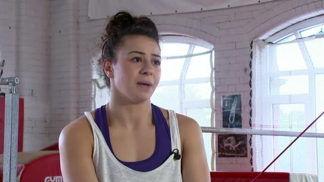 British gymnast Claudia Fragapane Somerset Bristol Fragapane interview SOT Have potential to get a team medal British gymnastics getting stronger