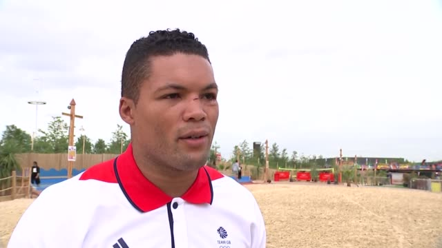team gb stars photocall and interviews various of olympic athletes james rodwell kate richardson walsh joe joyce beth tweddle and anthony joshua... - james joyce stock-videos und b-roll-filmmaterial