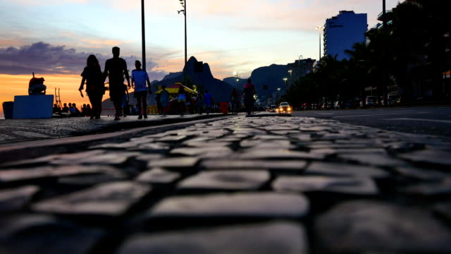 rio de janeiro, brazil: copacabana - rio de janeiro stock videos & royalty-free footage