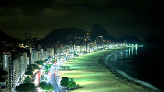 rio de janeiro, brazil: copacabana - copacabana beach stock videos & royalty-free footage
