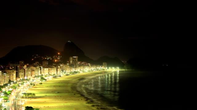 rio de janeiro, brazil: copacabana - copacabana stock videos & royalty-free footage