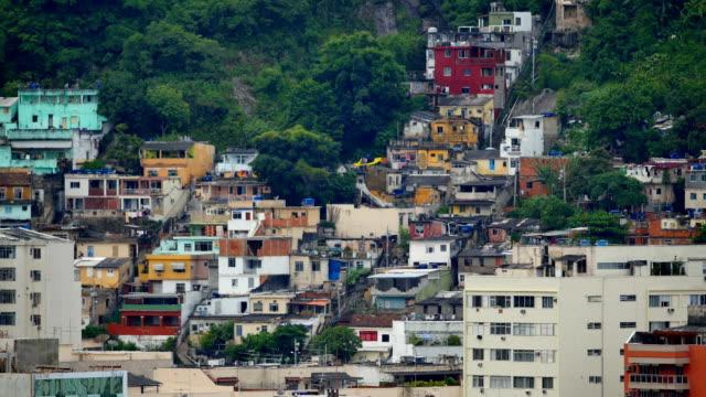 rio de janeiro, brazil: favelas - recession stock videos & royalty-free footage
