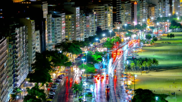 rio de janeiro, brazil in a thunderstorm - brazil stock videos & royalty-free footage
