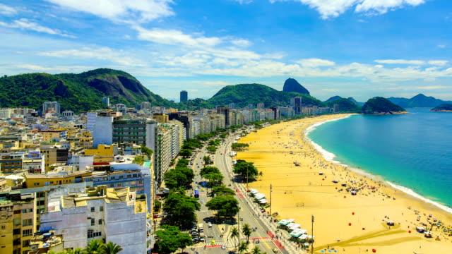 リオデジャネイロ(ブラジル) - レブロン点の映像素材/bロール