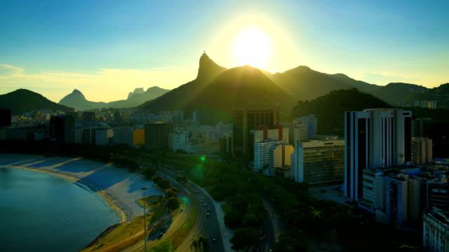 vidéos et rushes de rio de janeiro, brésil - corcovado