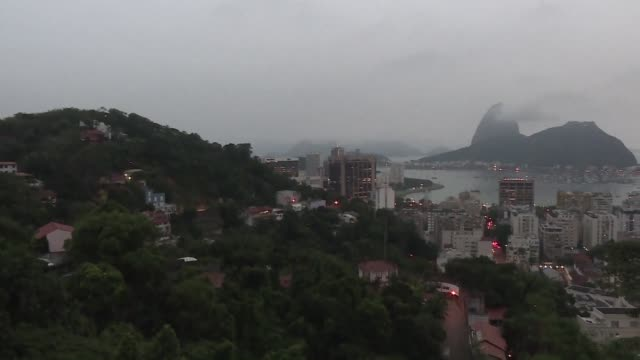 rio de janeiro nicknamed the marvelous city officially entered the un's list of world heritage sites tuesday in recognition of its soaring granite... - granite stock videos & royalty-free footage