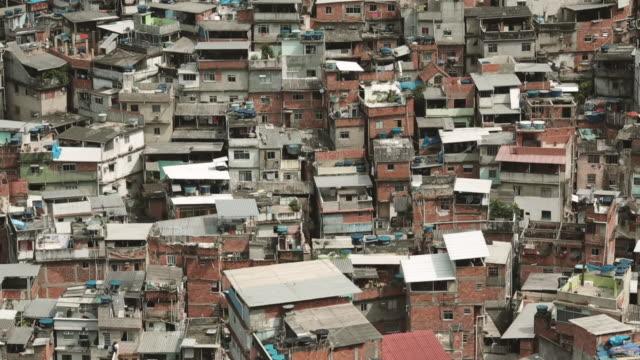 Rio de Janeiro 'Rocinha' slum community landscape houses