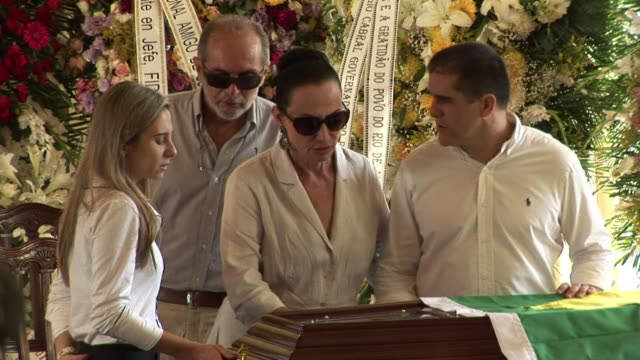 rio de janeiro the city from where oscar niemeyer drew his inspiration says goodbye to him friday with a funeral wake before his burial scheduled in... - oscar niemeyer stock videos and b-roll footage