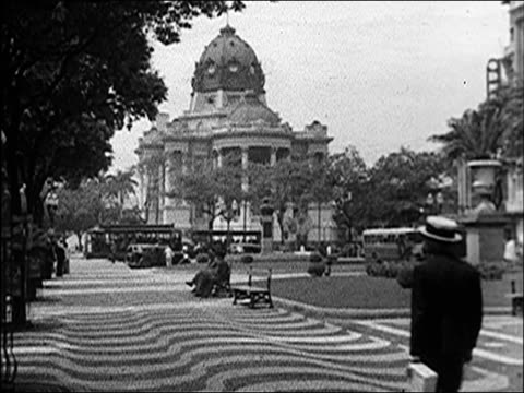 vídeos de stock, filmes e b-roll de 1938 - rio de janeiro - 1930
