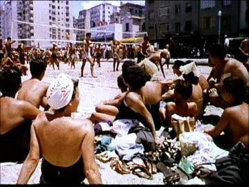 stockvideo's en b-roll-footage met 1963 rio de janeiro - swimwear