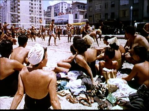 1963 rio de janeiro - swimwear videos stock videos and b-roll footage