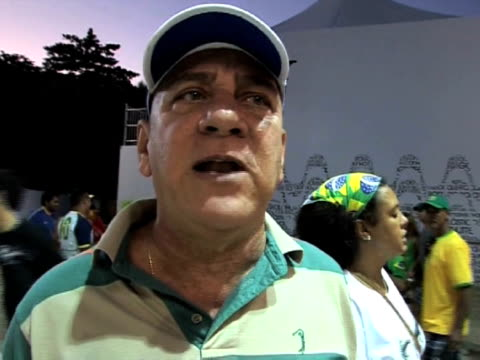 rio de janeiro was a huge party as the country got its first taste of victory at the football world cup. the match, in which the national squad beat... - international team soccer stock videos & royalty-free footage