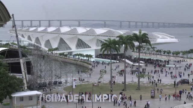 Rio organizers present the Olympic boulevard in the centre of the marvelous city