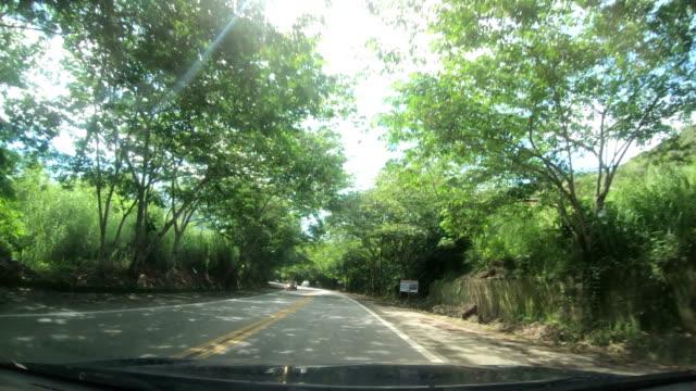 vídeos de stock, filmes e b-roll de rio-santos highway, rio de janeiro state, brazil - ensolarado