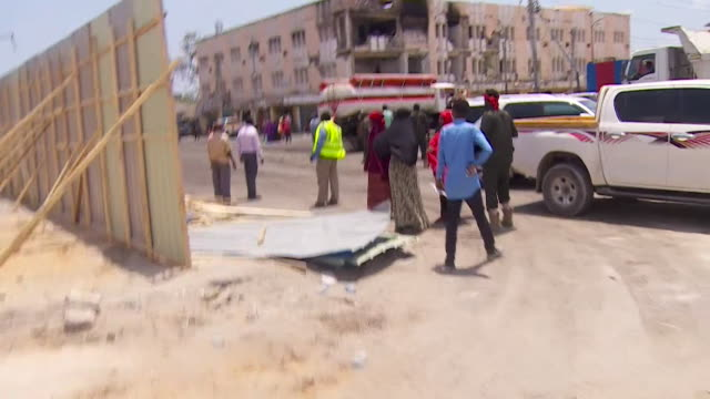 Rioting breaking out in Mogadishu after a deadly truck bomb attack carried out by AlShabaab