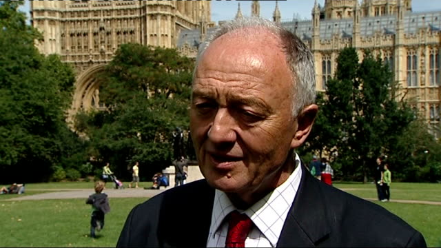 ken livingstone interview england london westminster ext ken livingstone interview sot statement today from prime minister about very tough line they... - prison riot stock videos & royalty-free footage
