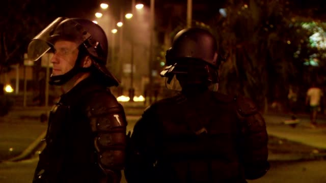 Rioting on the French island of RŽunion has continued for a fourth day with nine policemen injured overnight and 76 people taken in for questioning...