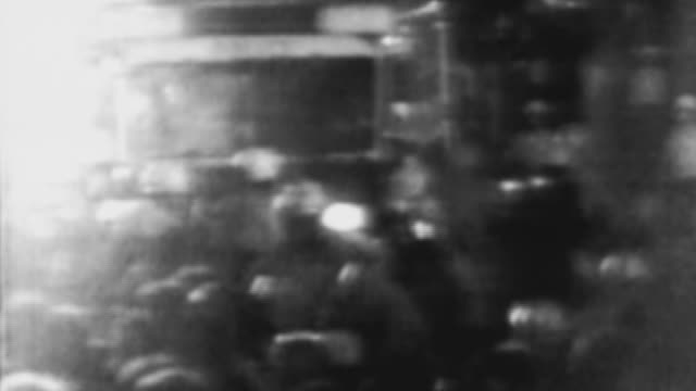 riots during the democratic national convention at the international amphitheater on august 28, 1968 in chicago, illinois. - 1968 stock videos & royalty-free footage
