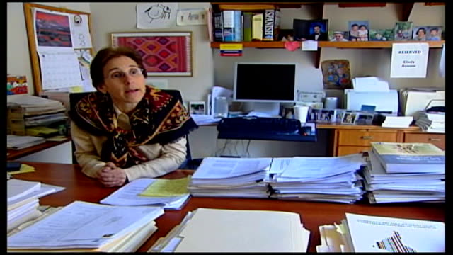 riots follow death of general augusto pinochet; usa: int cynthia arnson interview sot - pinochet case is landmark in international attempts to bring... - international landmark video stock e b–roll