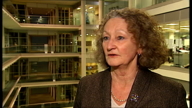 Government report says shooting rioters could be justified London GIR INT Jenny Jones interview SOT report is unhelpful / it suggests ramping up the...