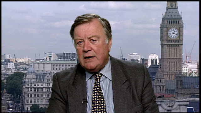 Ministry of Justice figures show that repeat offenders responsible ENGLAND London GIR INT Ken Clarke MP 2WAY interview ex Westminster SOT Depressing...