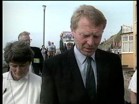 North Shields Riots North Shields Dorset Bournemouth EXT MS Paddy Ashdown MP along towards intvwd SOF proof that the social fabric of Britain is...