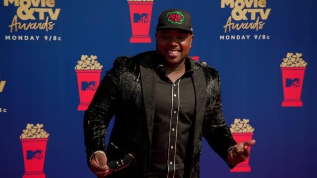 Rip Micheals at the 2019 MTV Movie TV Awards at Barkar Hangar on June 15 2019 in Santa Monica California