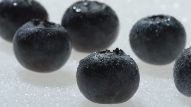 ripe blueberries, uk - medium group of objects stock videos & royalty-free footage