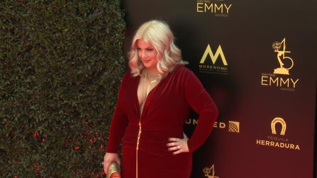 Risa Dorken at the 2018 Daytime Emmy Awards at Pasadena Civic Auditorium on April 29 2018 in Pasadena California