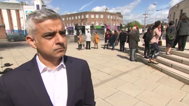 sadiq khan interview england london ext sadiq khan interview re violent crime figures sot - knife weapon stock videos and b-roll footage