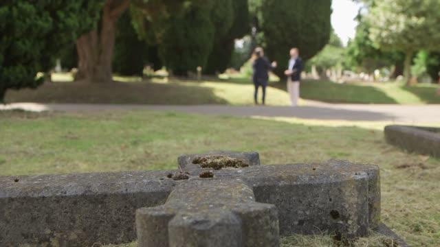 Rise in 'pauper' funerals UK Pauper funerals coffins Lucy Coulbert Allana Carvell Lucy Coulbert interview SOT/ INT Open empty coffin in funeral...