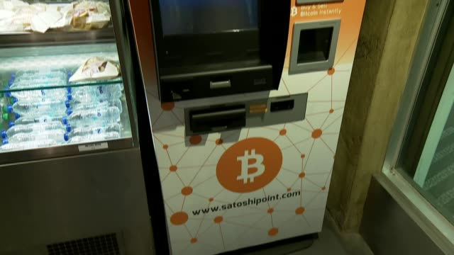 rise in value of bitcoin; bitcoin vending machine - bitcoin stock videos & royalty-free footage