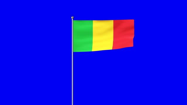 vidéos et rushes de drapeau montant du mali - politique et gouvernement