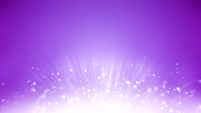 4k rising particles background loopable - purple background stock videos & royalty-free footage