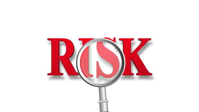 vídeos y material grabado en eventos de stock de evaluación de riesgo - escritura occidental