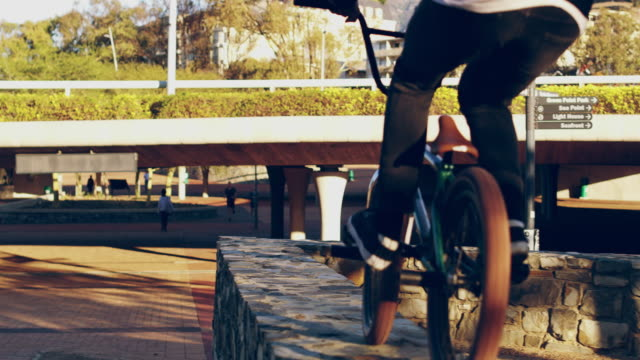 risking the fall for the chance to fly - freestyle bmx stock videos and b-roll footage