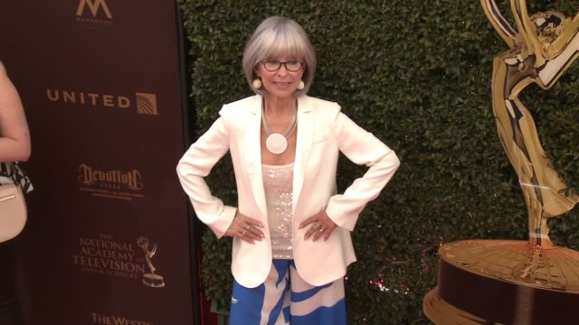 Rita Moreno at 43rd Annual Daytime Emmy Awards at Westin Bonaventure Hotel on May 01 2016 in Los Angeles California
