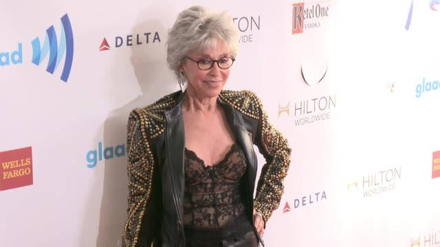 stockvideo's en b-roll-footage met rita moreno at the 25th annual glaad media awards at the beverly hilton hotel on april 12 2014 in beverly hills california - beverly hilton hotel