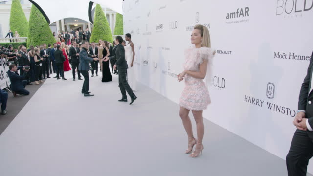 rita ora at amfar gala cannes 2017 at hotel du capedenroc on may 25 2017 in cap d'antibes france - amfar stock videos & royalty-free footage