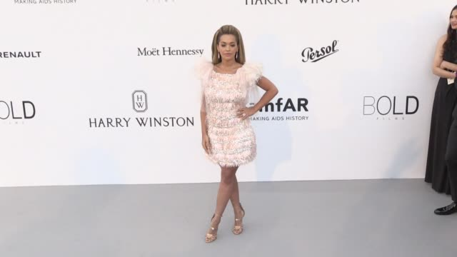 Rita Ora at on the red carpet at the amfAR Gala during the Cannes Film Festival 2017 Thursday 25 May 2017 Cannes France