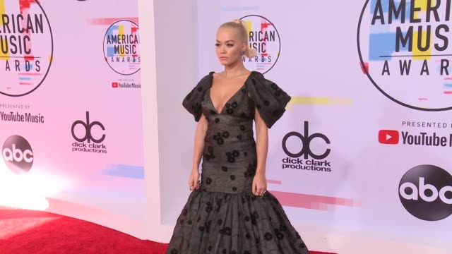 Rita Ora at the 2018 American Music Awards at Microsoft Theater on October 09 2018 in Los Angeles California