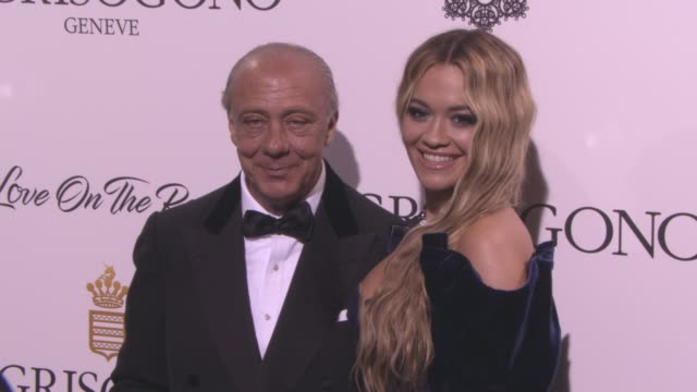 rita ora, fawaz gruosi at de grisogono party at hotel du cap-eden-roc on may 23, 2017 in cap d'antibes, france. - cannes stock videos & royalty-free footage