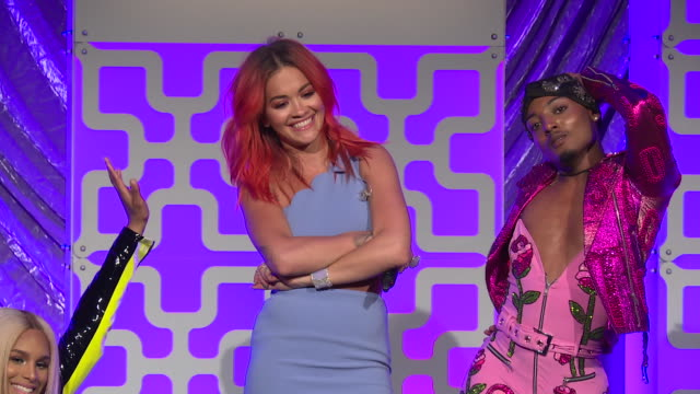 PERFORMANCE Rita Ora performs at The Trevor Project TrevorLIVE NY 2018 at Cipriani Wall Street on June 11 2018 in New York City