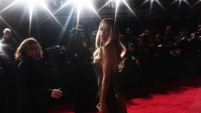 Rita Ora walks the red carpet at The Fashion Awards 2017 at Royal Albert Hall on December 4 2017 in London England