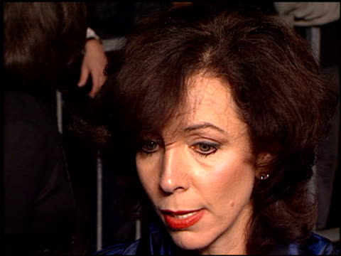 rita rudner at the 'tomorrow never dies' premiere at dorothy chandler pavilion in los angeles california on december 16 1997 - tomorrow never dies stock videos and b-roll footage